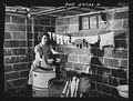 Point Pleasant, West Virginia. Washing clothes in the basement of the Fergusen house LCCN2017855240.tif
