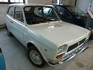 Fiat 127 - Polski Fiat 127p at Muzeum Inżynierii Miejskiej in Kraków.