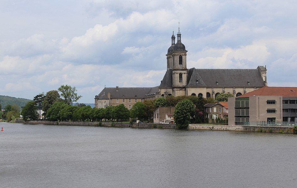 Pont-à-Mousson, view to Norbertine abbey