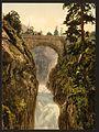 Pont d'Epagne (i.e., Pont d'Espagne), Cauterets, Pyrenees, France-LCCN2001698626.jpg