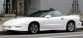 Pontiac Firebird - 1994–1997 Trans Am convertible