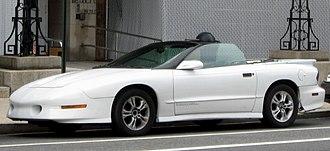 Pontiac Firebird - 1994–1997 Trans Am convertible