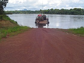 Pontoon Crossing at Mango Landing Essequibo River.jpg