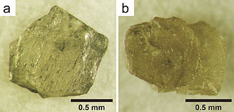 Aggregated diamond nanorod - Natural nanodiamond aggregates from the Popigai crater, Siberia, Russia.