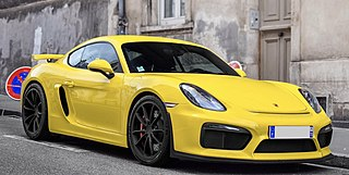 Porsche 981 Third generation of the Boxster and second generation of the Cayman sports cars