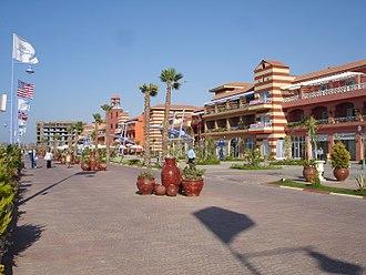 Northern coast of Egypt - Hotels of Porto Marina