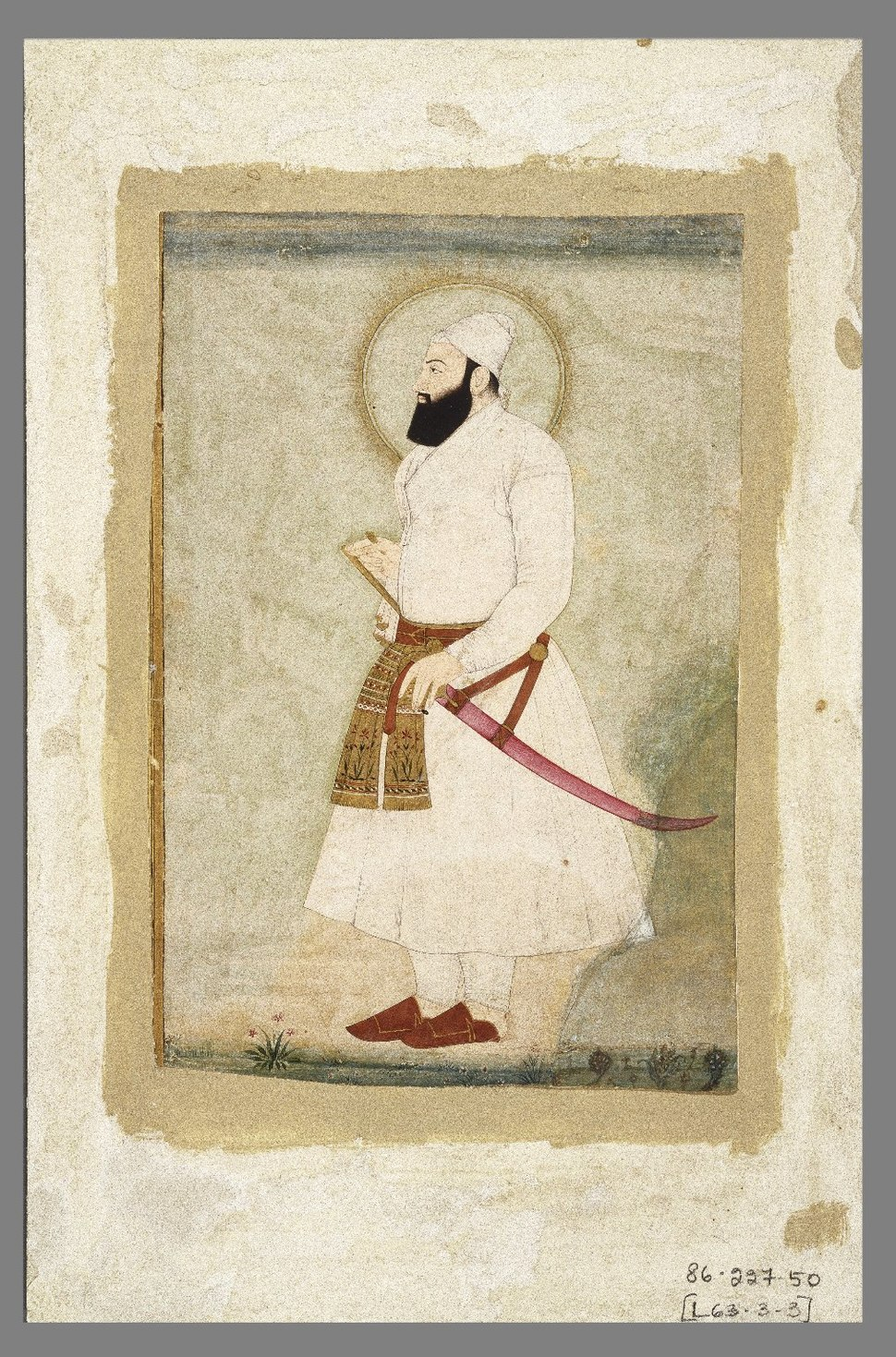 Portrait of Abu'l Hasan,