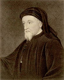 Portrait of Chaucer (19th century)