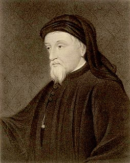 image of Geoffrey Chaucer from wikipedia