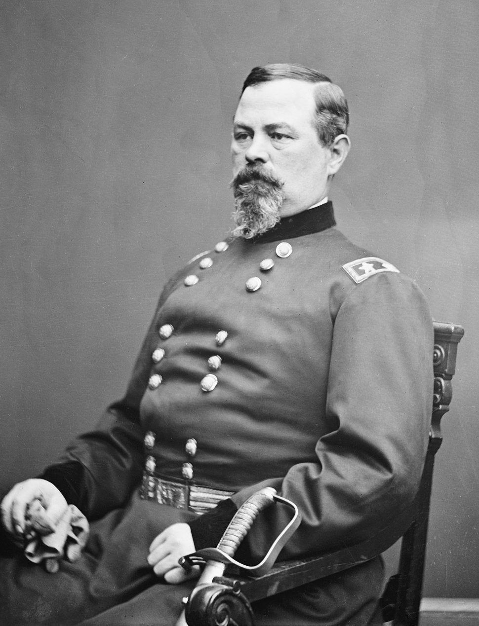 Portrait of Maj. Gen. Irvin McDowell, officer of the Federal Army