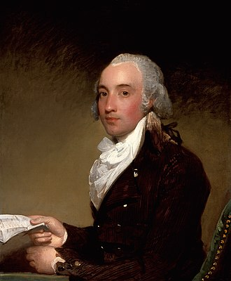 Viscount Barrington - Portrait of Richard Barrington, 4th Viscount Barrington, by Gilbert Stuart, ca. 1793-1794