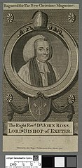 Right Revd. Dr. John Ross, Lord Bishop of Exeter