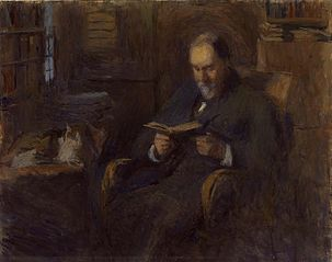 Portrait of Sanford Saltus of New York