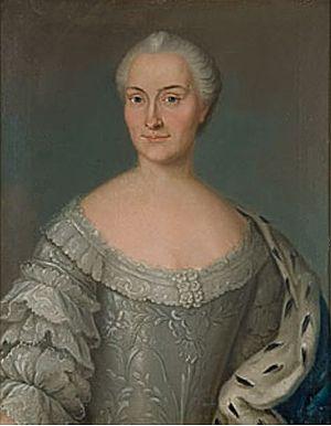 Johan Stålbom - Portrait of a Lady by Johan Stålbom, 1752