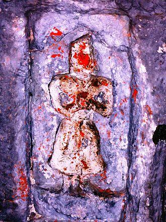 Sarahan - Possible Kushan image in Bhimakali temple