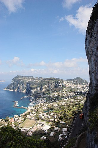 History of Capri - So-called Phoenician Steps