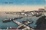 Postcard of Piran view 1930.jpg