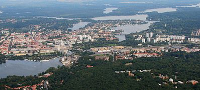 Another aerial photograph of Potsdam