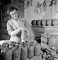 Pottery in the Making- the work of J and G Meakin Pottery, Hanley, Stoke-on-trent, Staffordshire, England, 1942 D11458.jpg