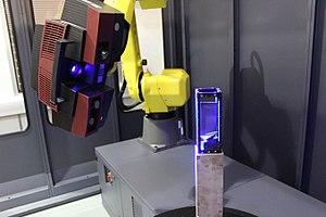 Delcam - Robot scan using PowerINSPECT.