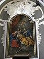 Prato, chiesa del soccorso, int., altare laterale 03 Giuseppe Gricci, transito di san giuseppe, 1766.jpg