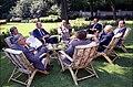 President Gerald R. Ford Meeting with Western Leaders in the British Embassy Garden in Helsinki, Finland - NARA - 12082708.jpg