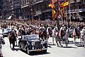 President Gerald R. Ford and Generalissimo Francisco Franco Riding in a Ceremonial Parade in Madrid, Spain - NARA - 23869171.jpg