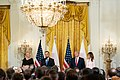 President Trump and the First Lady Visit with the President of Poland and Mrs. Duda (48058676297).jpg
