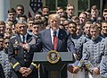 President Trump presents Commander-in-Chief's Trophy to Army team of 'fighters' 02.jpg