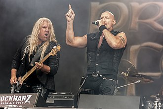 Primal Fear (band) - Primal Fear performing live at Rockharz in 2018