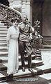 Prince Ioann Konstantinovich and his wife Princess Elena Petrovna (daughter of King Peter I of Serbia).jpg