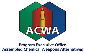 Program Executive Office, Assembled Chemical Weapons Alternatives - Image: Program Executive Office, Assembled Chemical Weapons Alternatives Logo