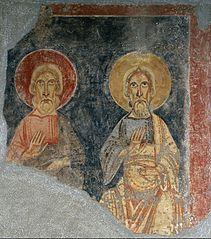 Prophets of the triumphal arch from El Burgal