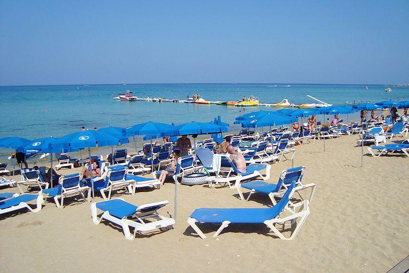 File:Protaras golden beach in Paralimni Republic of Cyprus.jpg
