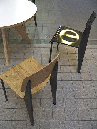 Jean Prouvé - Chairs by Jean Prouvé