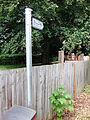 Public footpath, Newark Road, Lincoln, England - DSCF1437.JPG