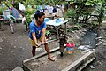 Pumping water from a well in talisay cebu philippines.jpg