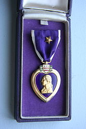 what does the purple heart mean