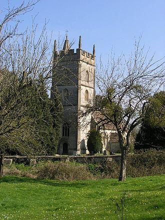Pylle - Image: Pylle church