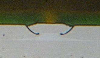 Quantum cascade laser - Image: QC buried heterostructure