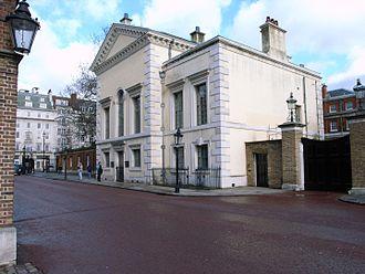 Queen's Chapel - Marlborough Road front