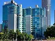 Queen Elizabeth II Courts of Law seen from Albert Street, Brisbane 02