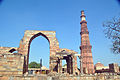 Qutab Minar and Ashoka Pillar.jpg