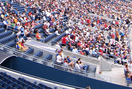 Closer view of seats. Qwest field seating section.jpg