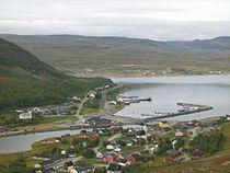 Ráhkkerávju Kvalsund from the southeast.JPG