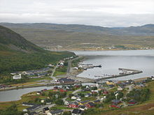Ráhkkerávju Kvalsund from the southeast.JPG