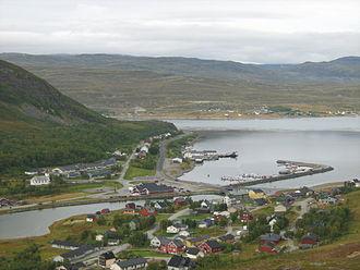 Kvalsund - View of Ráhkkerávju