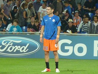 Rémy Cabella - Cabella playing for Montpellier in the Champions League