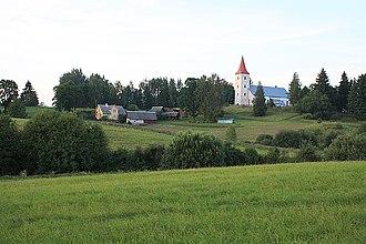 Rõuge - Image: Rõuge church