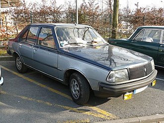 "Renault 18 - 1984 R18 ""American 2"" special edition (France)"